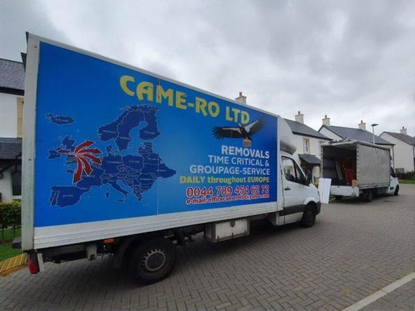 Общество: Посольство Украины в Лондоне отреагировало на карту Украины без Крыма на машинах британского перевозчика