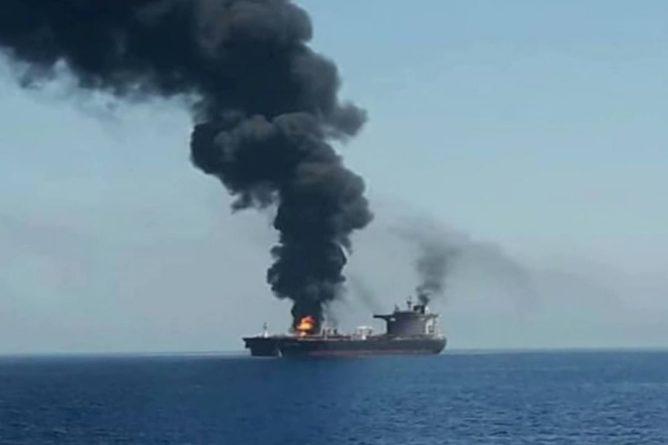 Общество: США и Британия пообещали ответ Ирану за атаку на танкер