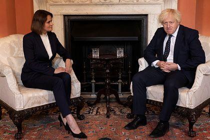 Общество: Премьер-министр Великобритании встретился с Тихановской и выразил ей поддержку