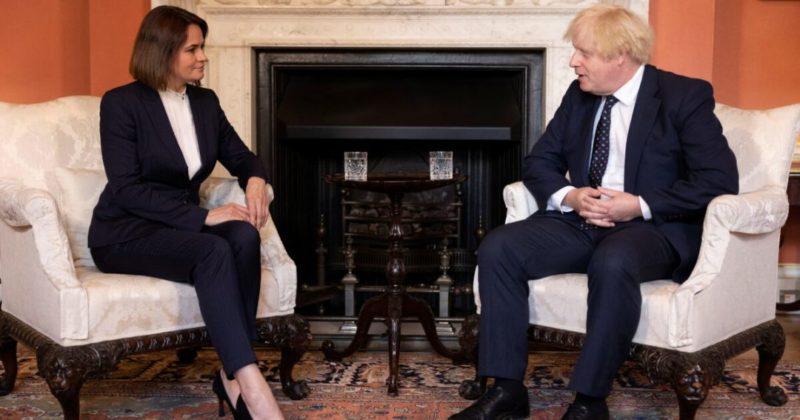 Общество: Премьер Британии Борис Джонсон встретился со Светланой Тихановской: о чем говорили