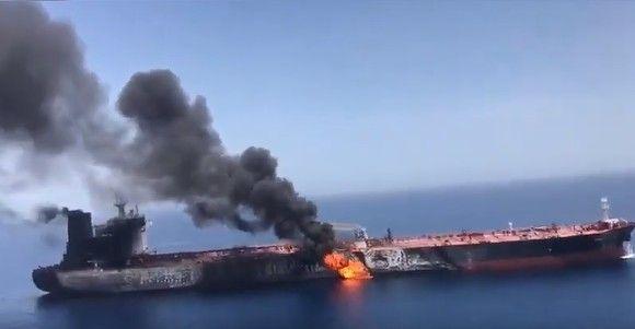 Общество: Великобритания обвинила Иран в нападении на танкер Mercer Street