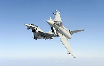Общество: Истребители Typhoon перехватили российские военные самолеты у границ Великобритании