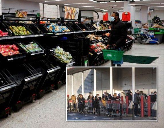 Общество: Армия поможет Великобритании продуктами