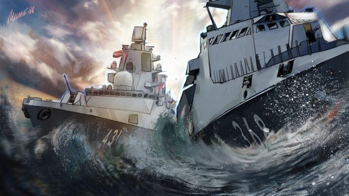 Общество: В Британии предупредили НАТО о последствиях провокаций России учениями в Черном море