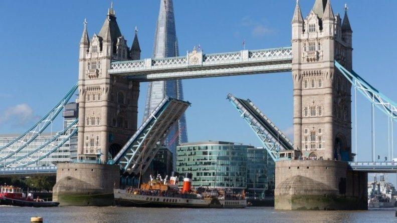 Общество: В Лондоне сломался главный символ Англии Тауэрский мост