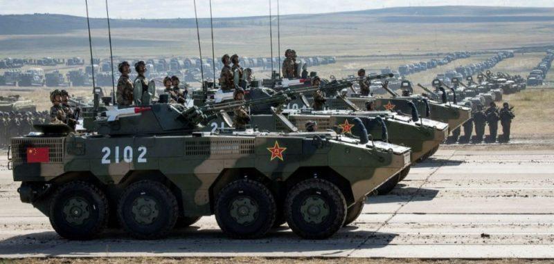 Общество: В Великобритании удивились военным учениям Китая и России