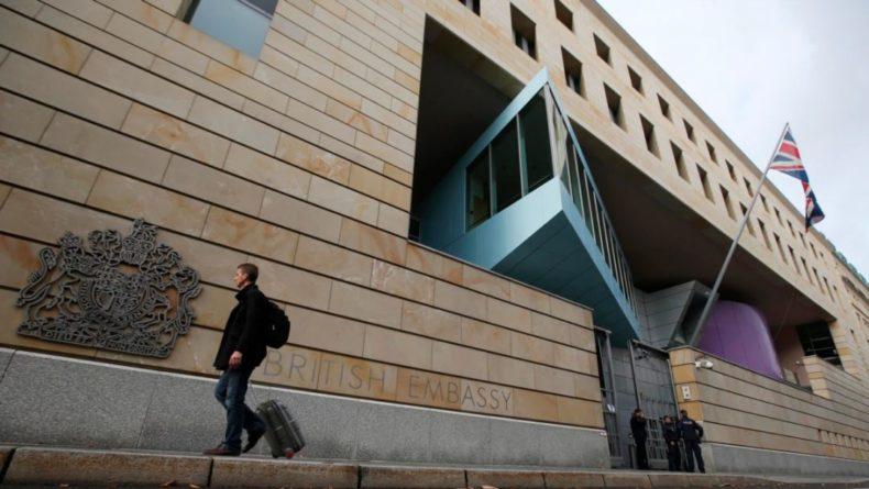 Общество: В ФРГ за шпионаж в пользу РФ арестован сотрудник посольства Британии