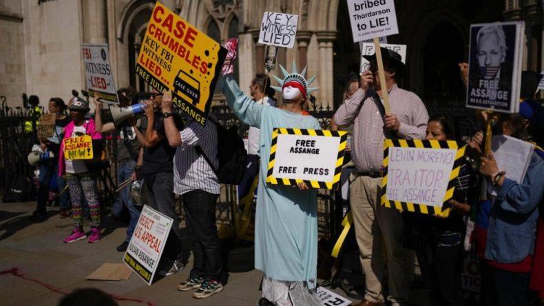 Общество: Экстрадиция Ассанжа: суд Лондона рассмотрит апелляцию США в октябре