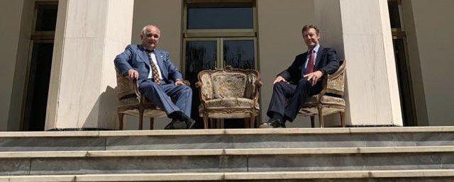 Общество: Посла России в Иране вызвали в МИД из-за фото с послом Великобритании