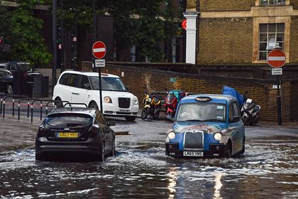 Общество: Центр Лондона уйдет под воду