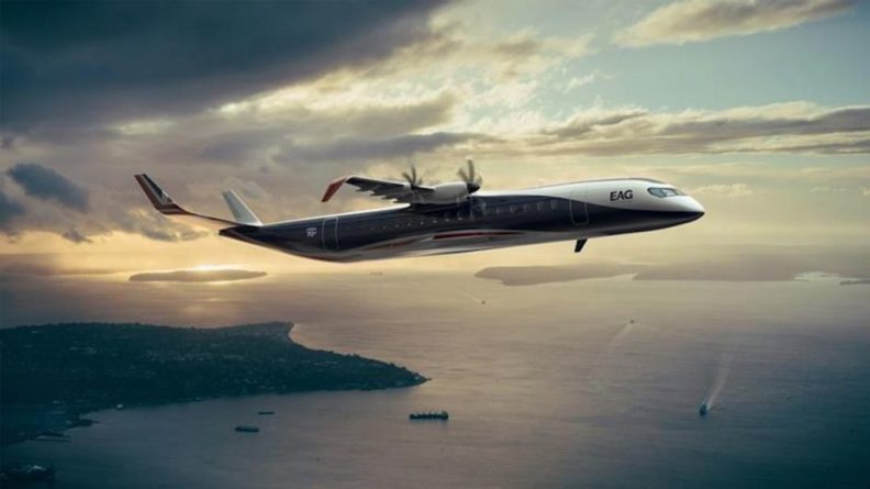 Общество: В Британии создадут 90-местный авиалайнер на водороде