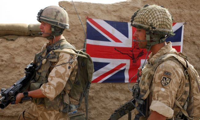 Общество: Британия направила в Афганистан военных для эвакуации своих граждан