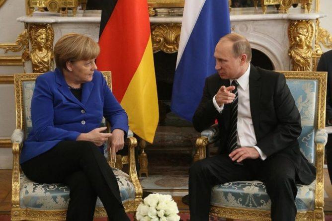 Общество: «Последний отчет перед начальством»: британцы оценили встречу Меркель и Путина