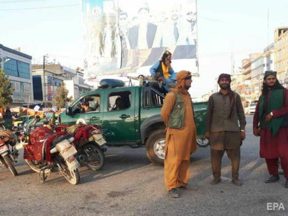Общество: Великобритания предложила союзникам не признавать власть талибов в Афганистане