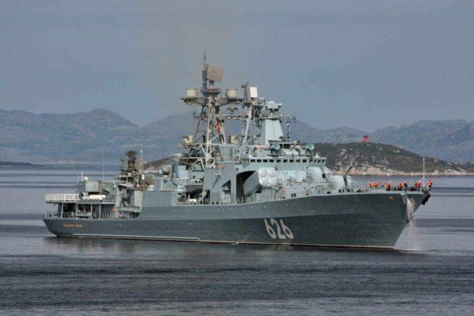 Общество: Военный эксперт Баранец объяснил превосходство ВМФ России над кораблями США и Британии