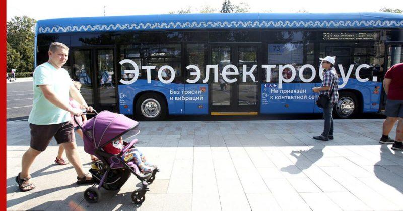 Общество: Москва обогнала Лондон и другие европейские столицы по количеству электробусов