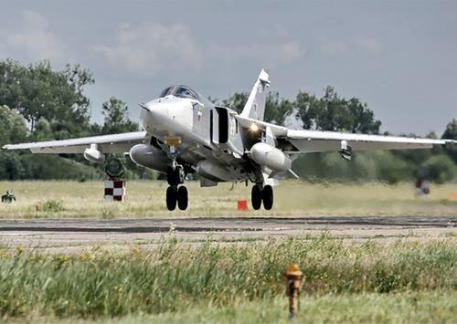 Общество: Королевские ВВС Великобритании заявили о перехвате российского Су-24 у побережья Румынии