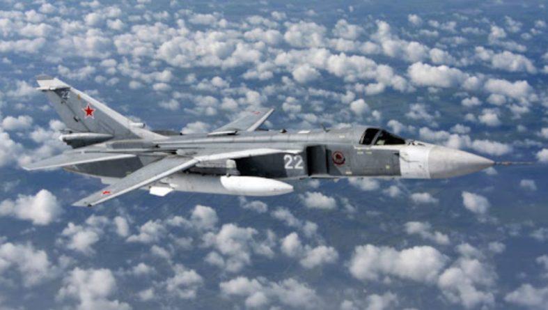 Общество: Над Черным морем истребители ВВС Британии перехватили российский Су-24