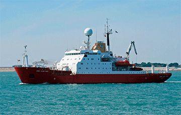 Общество: Украина купила у Британии ледокол для миссий в Антарктиде