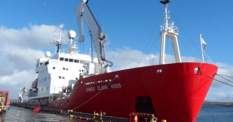 Общество: Украина купила у Великобритании легендарный ледокол James Clark Ross для изучения Антарктиды