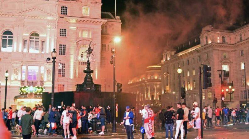 Общество: На финале Евро-2020 в Лондоне более 3 тыс. человек заболели COVID-19