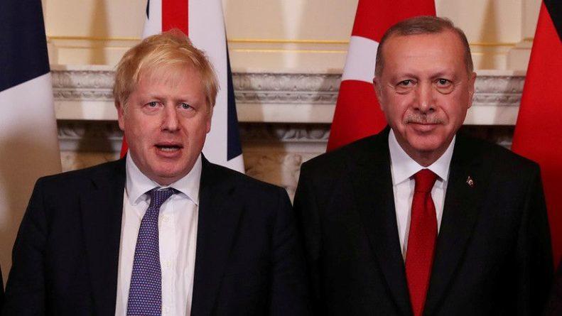 Общество: Джонсон и Эрдоган обсудили ситуацию в Афганистане