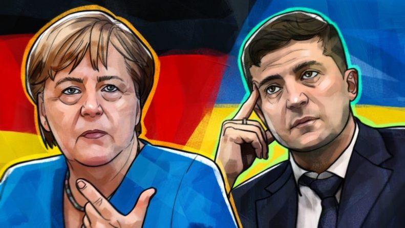Общество: В Британии высмеяли резкие заявления Меркель и Зеленского в адрес РФ