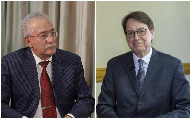 Общество: Спецпредставитель президента Узбекистана по Афганистану встретился с послом Британии