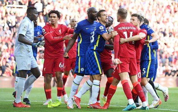 Общество: Ливерпуль, играя тайм в большинстве, не дожал Челси
