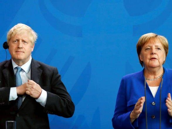 Общество: Меркель и Джонсон обсудили стратегию по Афганистану