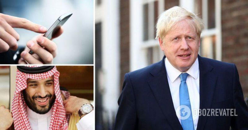 Общество: Премьер Британии Борис Джонсон попал в скандал, переписывался с личного телефона