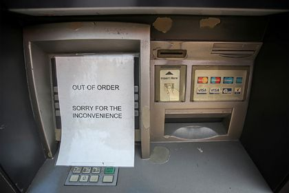Общество: Тысячи банкоматов пропали в Великобритании