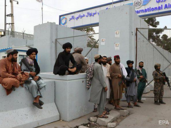 """Общество: Великобритания ведет прямые переговоры с """"Талибаном"""" для безопасной эвакуации своих граждан из Афганистана"""