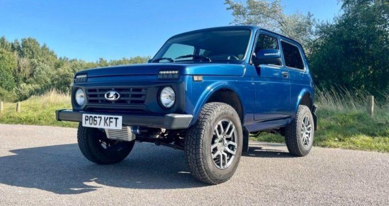 Общество: В Британии выставили на продажу «Ниву» с мотором BMW и задним приводом