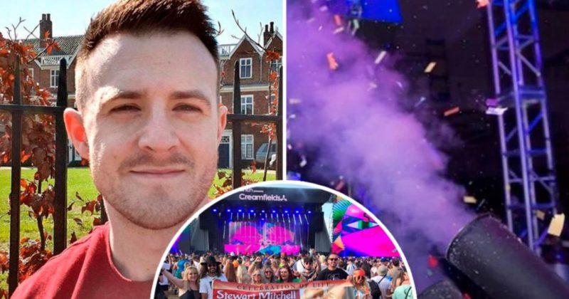 Общество: Прахом фаната выстрелили из конфетти-пушки на фестивале в Британии