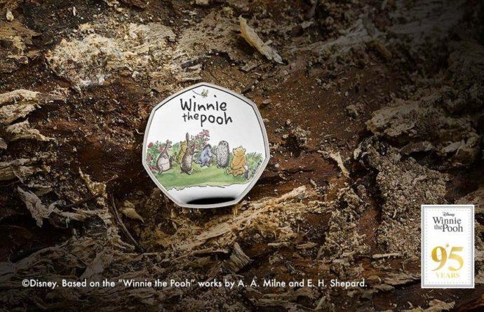 Общество: В Британии выпустили коллекционную монету с Винни-Пухом