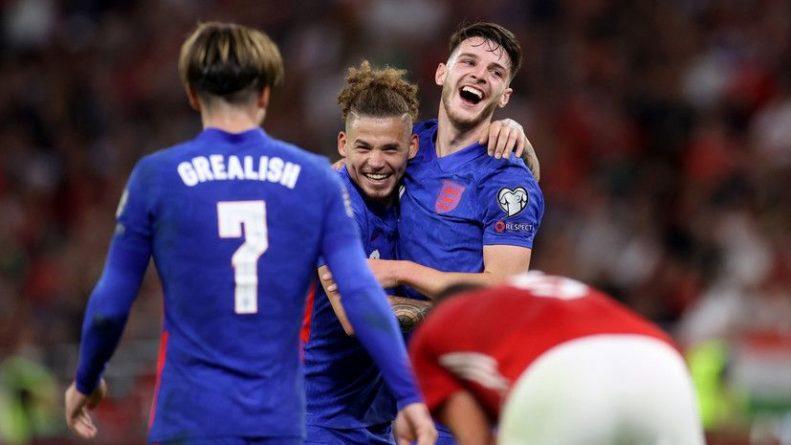 Общество: Англия разгромила Венгрию в матче квалификации ЧМ-2022