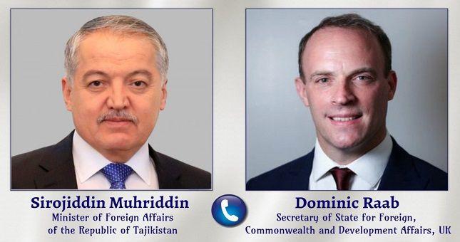 Общество: Сироджиддин Мухриддин и Государственный секретарь по иностранным делам, Содружеству и Развитию Великобритании обсудили двустороннее сотрудничество