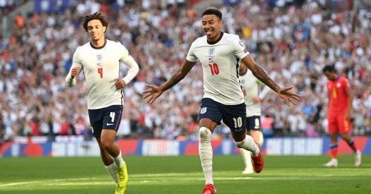 Общество: Англия разгромила дома Андорру в матче отбора ЧМ-2022