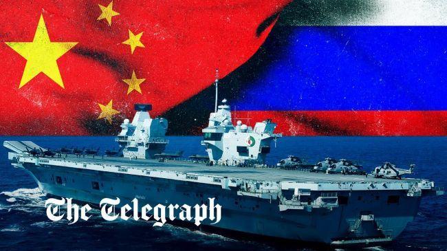 Общество: Британия запустила пропагандистский ролик, как ее ВМС противостоят России и КНР