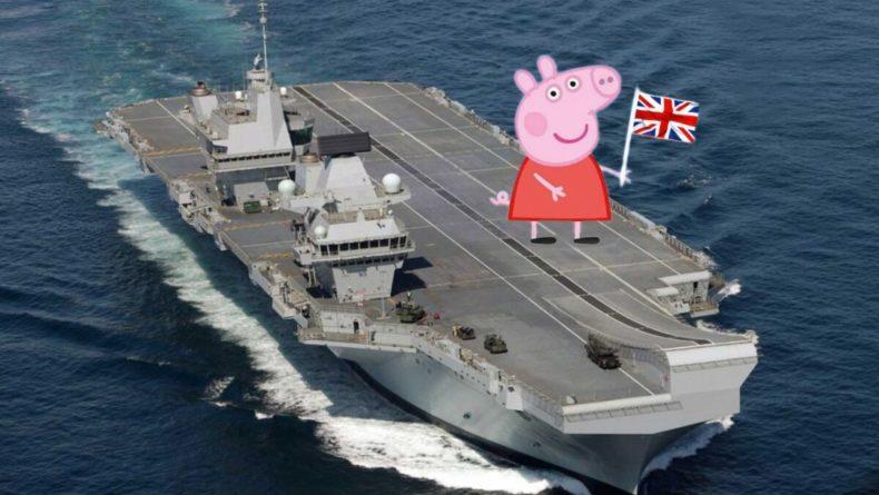 Общество: Британцы высмеяли свой флот за попытку «подать сигнал» России и Китаю