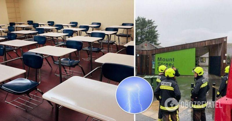 Общество: В Англии в школу ударила молния - детей срочно эвакуировали