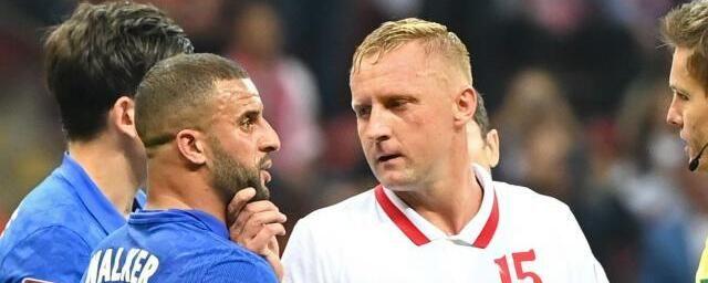 Общество: Игрока сборной Польши Глика обвинили в расизме в матче против команды Англии