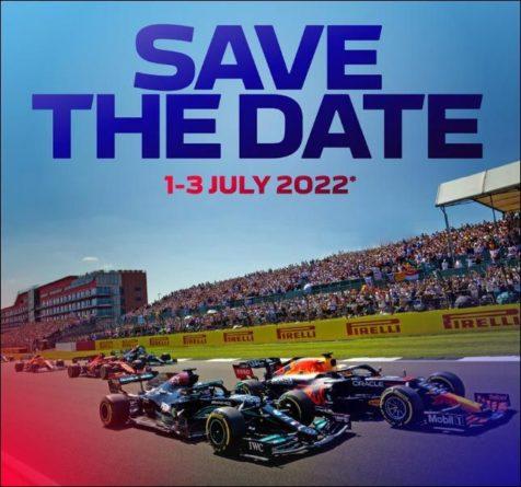 Общество: Гран При Великобритании 2022 года пройдёт 1-3 июля