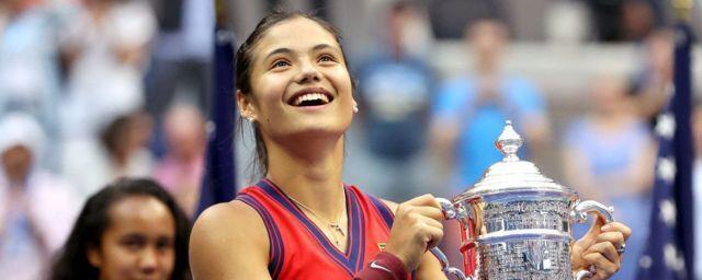Общество: 18-летняя британка Радукану стала победительницей US Open