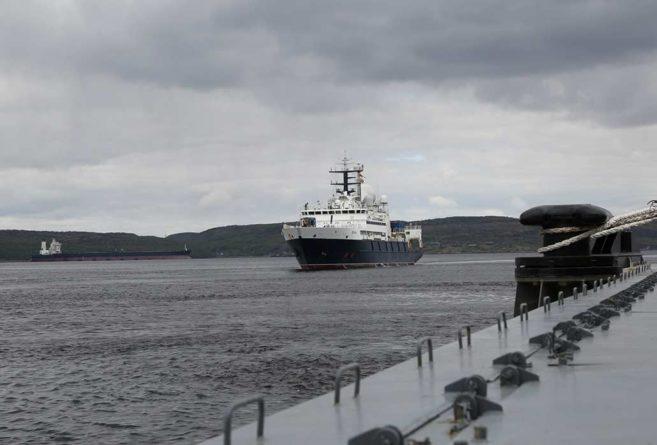 Общество: Заход «шпионского» российского судна «Янтарь» в Ла-Манш встревожил Великобританию