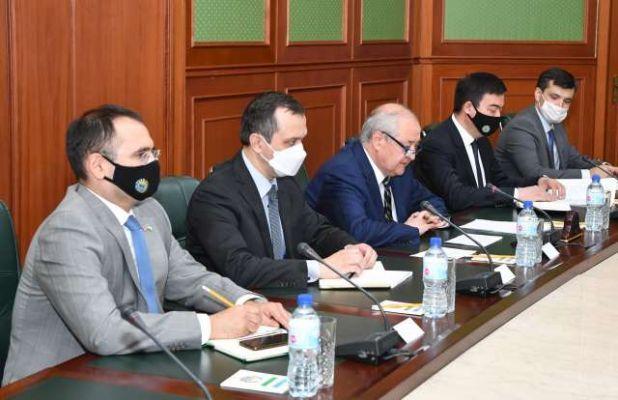 Общество: Глава МИД Узбекистана встретился с государственным министром Великобритании