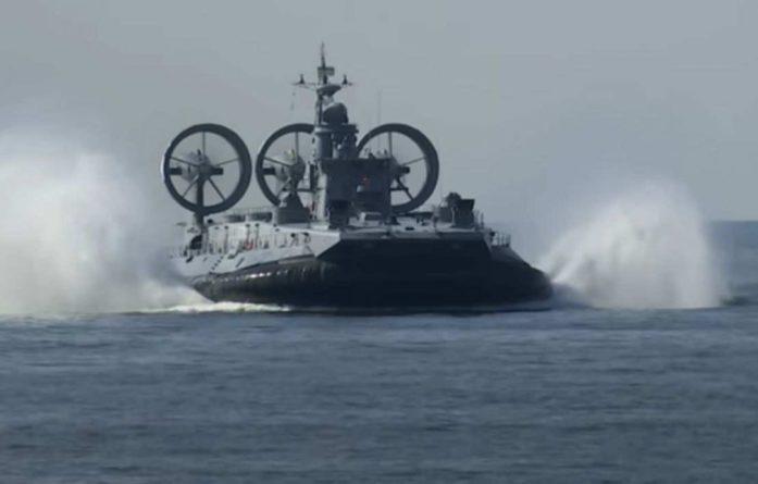 Общество: Британцы назвали «чудовищем из кошмаров» российский корабль «Зубр» на учениях Запад-2021