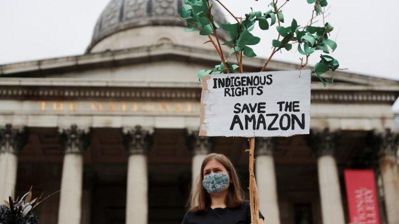 Общество: В Великобритании задержаны 36 участников протеста против изменения климата