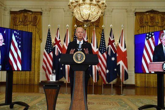 Общество: Лидеры Великобритании, США и Австралии заключили пакт о противодействии Китаю